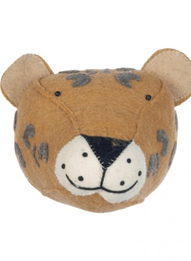 Kidsdepot Dierenkop Leopard