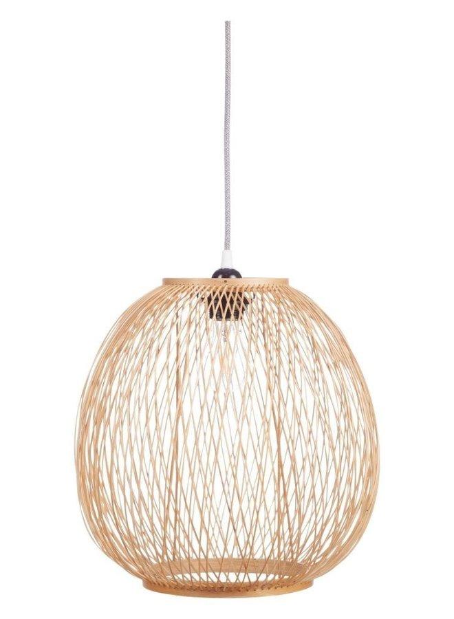 Kids Depot hanglamp Luis bamboe naturel