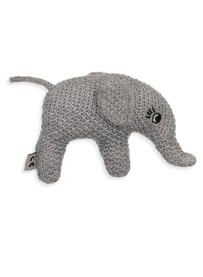 Smallstuff rammelaar olifant grey