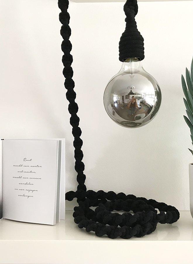 Liefs van Emma lamp Tine zwart