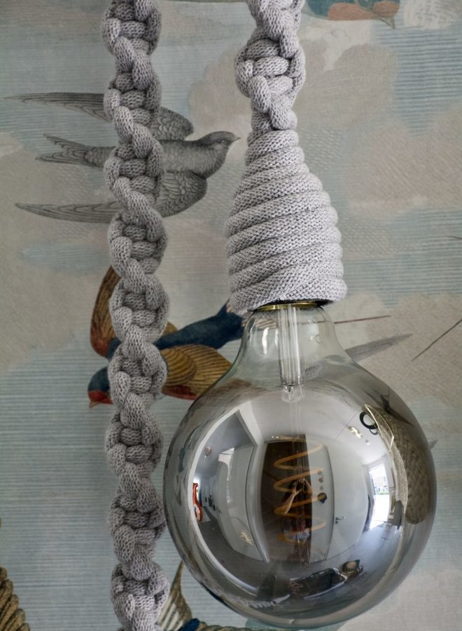 Liefs van Emma lamp Tine lichtgrijs