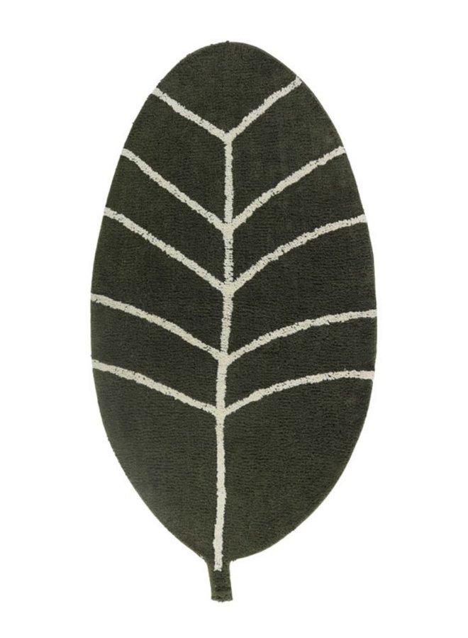 Tapis petit vloerkleed Leaf Green