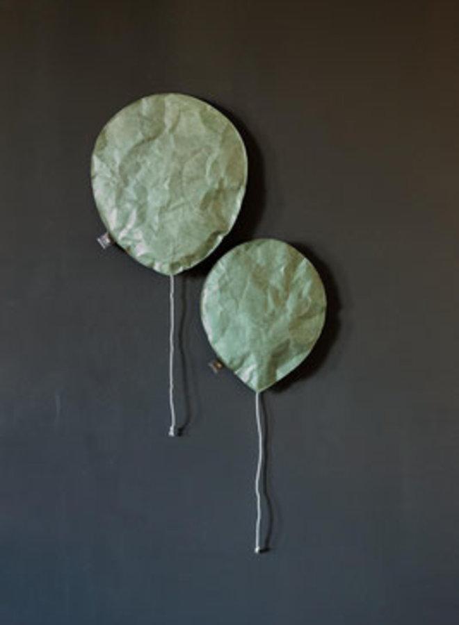 Ekaterina Galera paper ballon L celadon