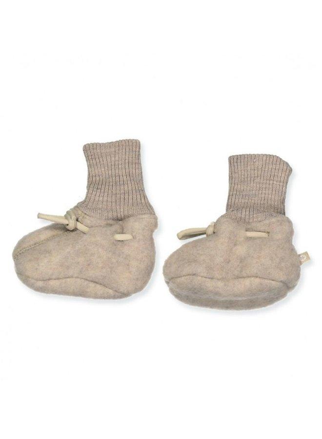Smallstuff Booties marino wool nature