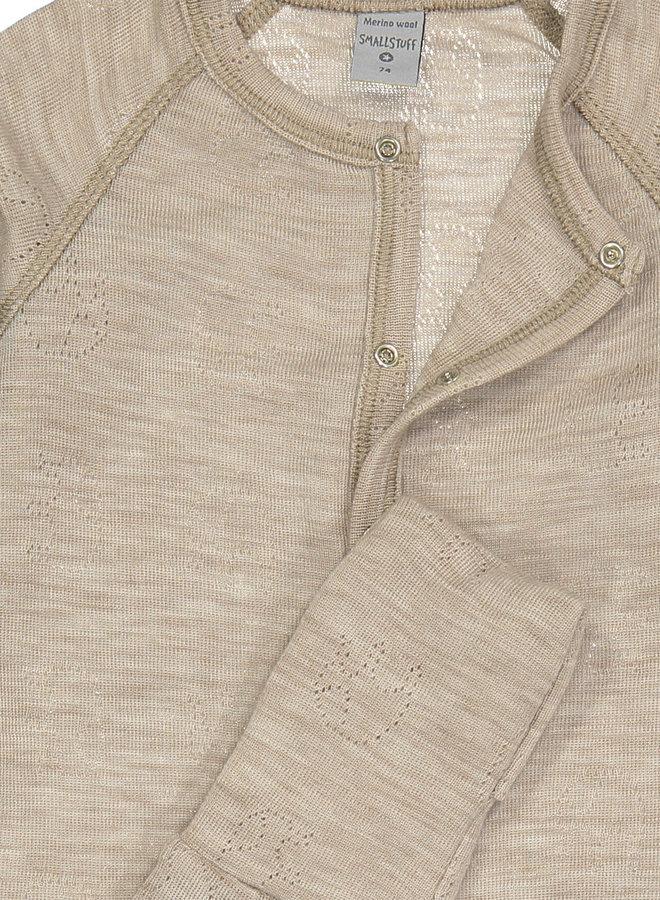 Smallstuff Nightsuit merino wool nature