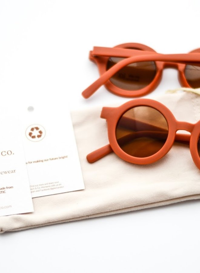 Grech & Co. sunnies rust