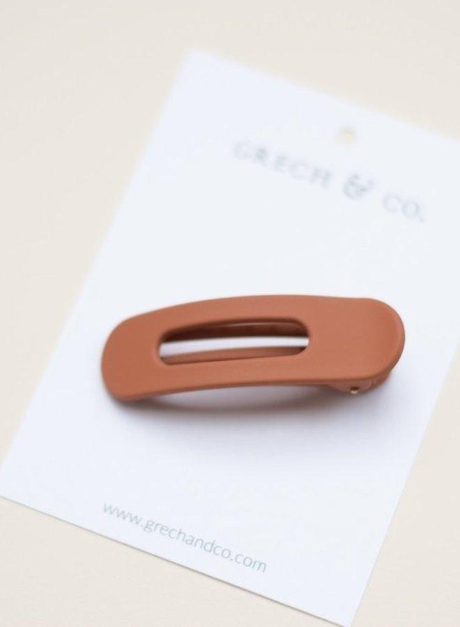 Grech & Co. grip clip terracotta