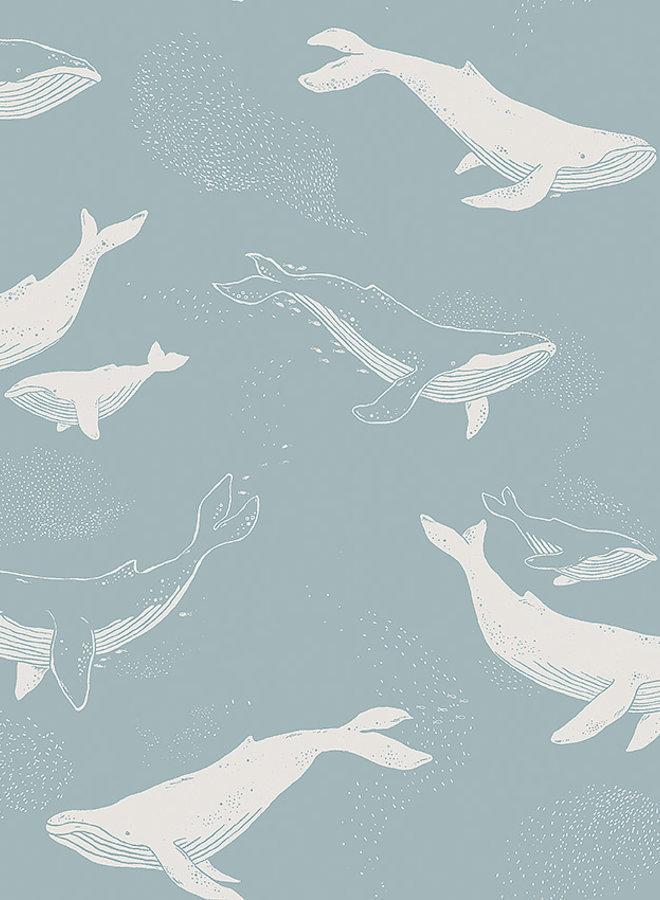 Boras Tapeter Newbie Whales 7453