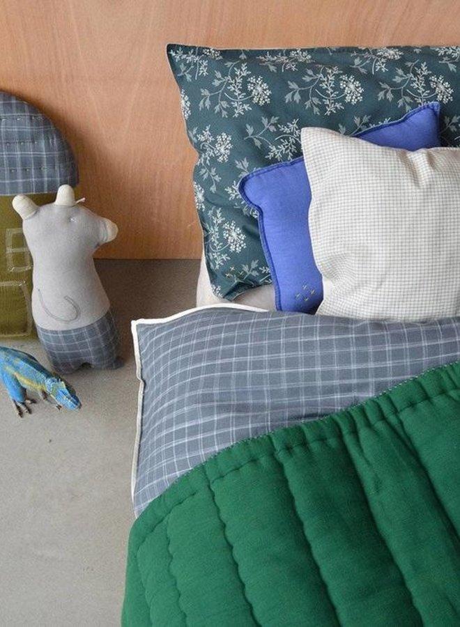 Camomile London handquilted deken groen