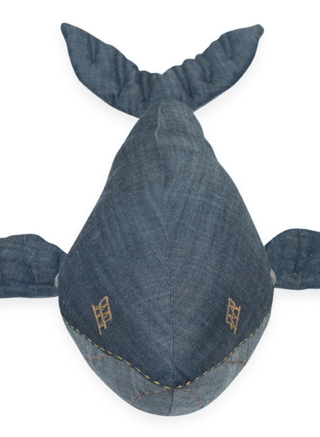 Stapelgoed cuddle whale denim