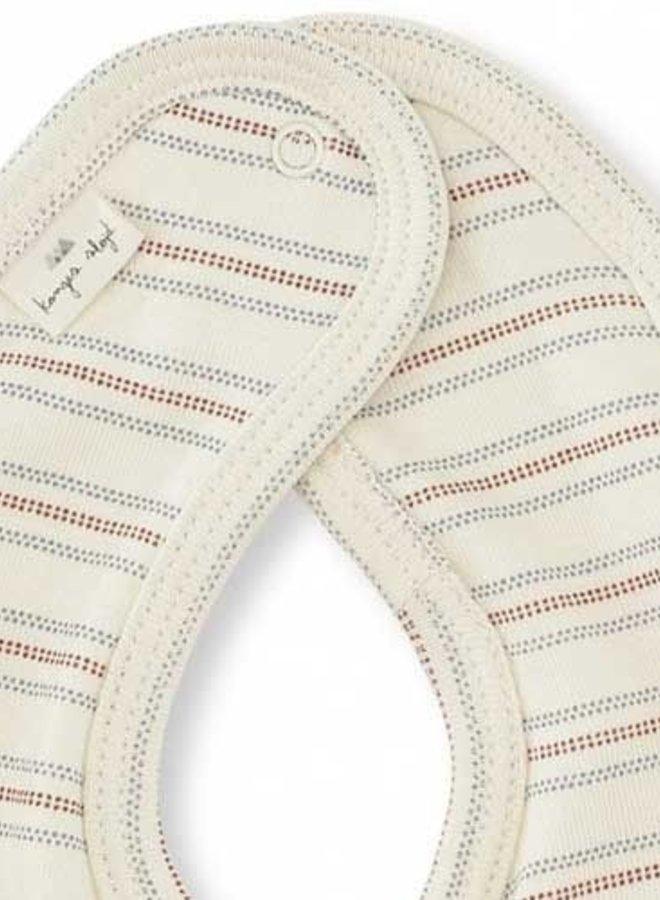 Konges Slojd bibs vintage stripe