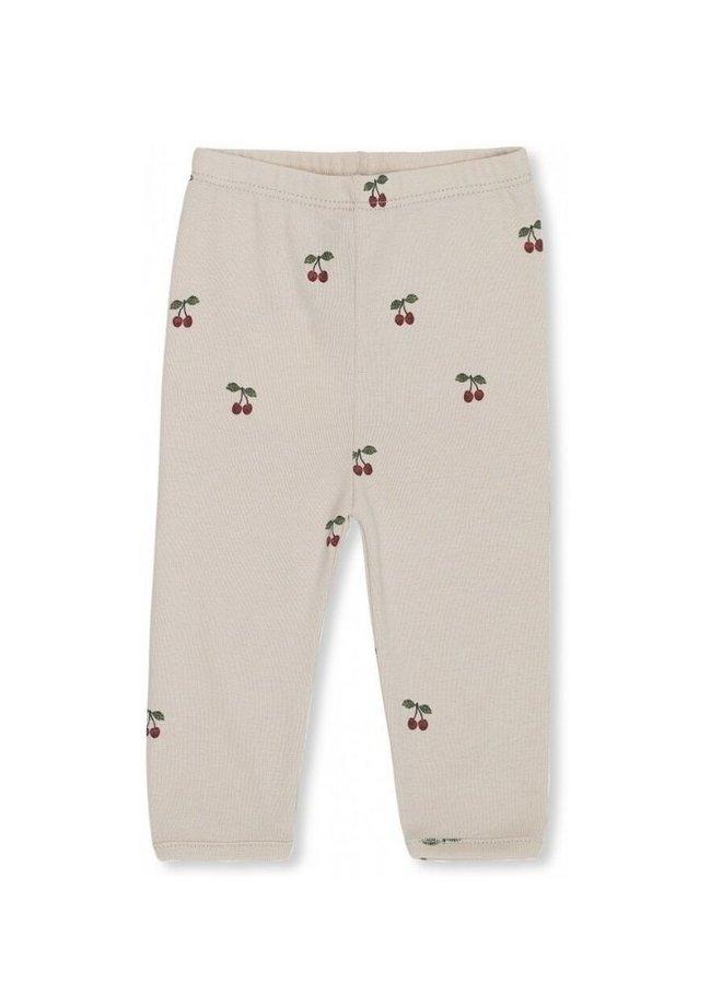 Konges Slojd nb pants deux cherry/blush