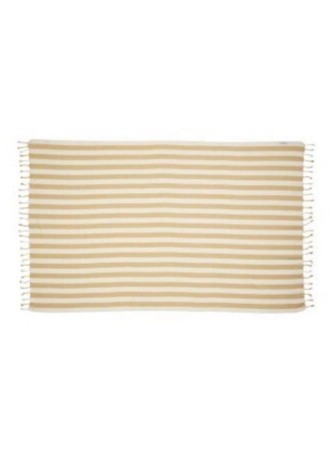 Liewood Mona beach towel yellow mellow