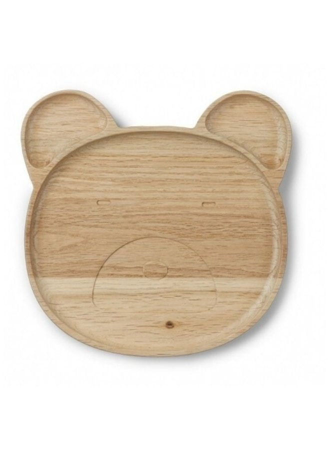 Liewood bord mr. bear hout