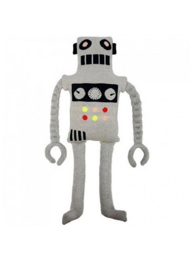 Meri Meri  knuffelkussen robot Ziggy
