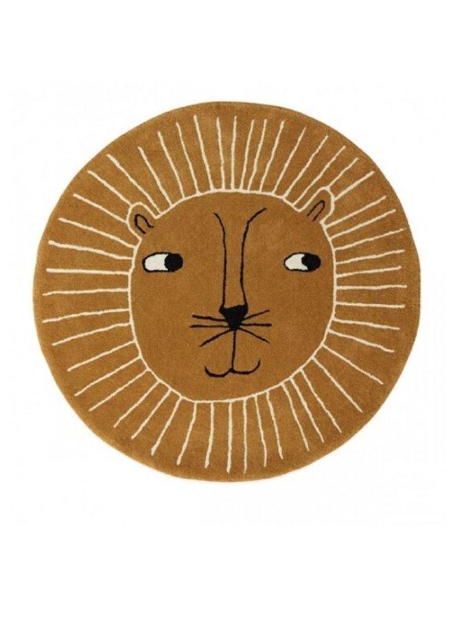 OYOY Lion rug caramel