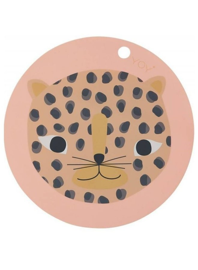 OYOY placemat snow leopard