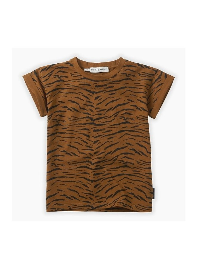Sproet & Sprout Basic T-Shirt Tiger