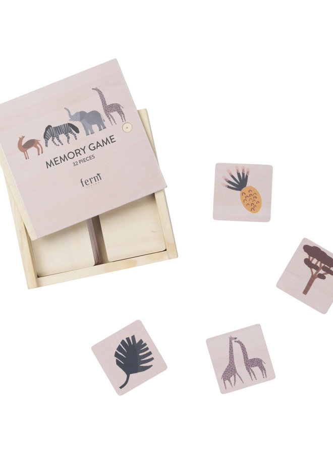 Ferm Living Safari memory game