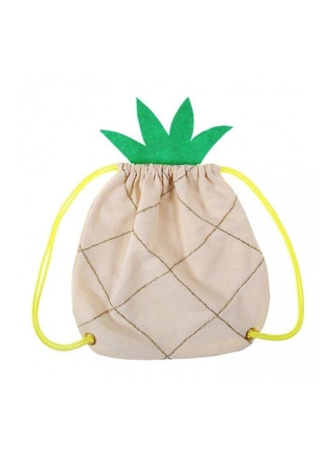 Meri Meri ananas rugtasje