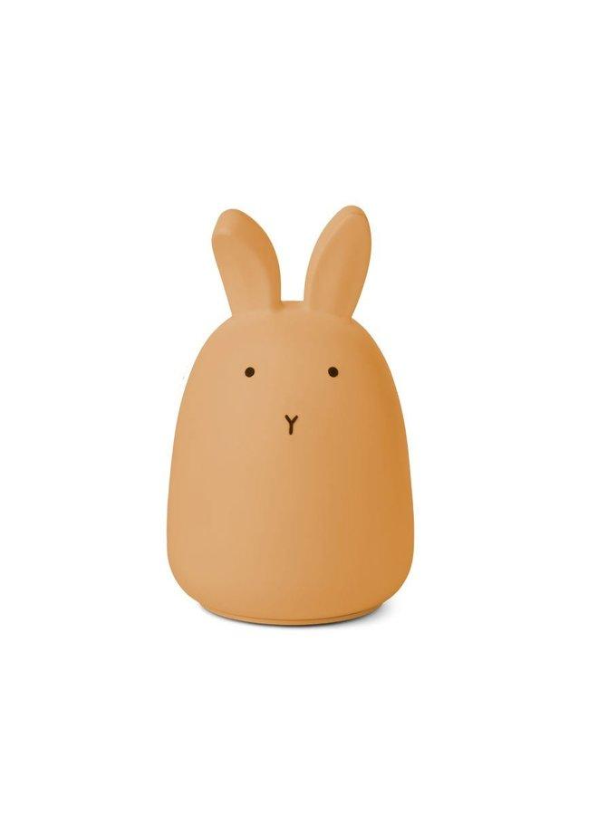 Liewood nachtlampje winston rabbit yellow mellow