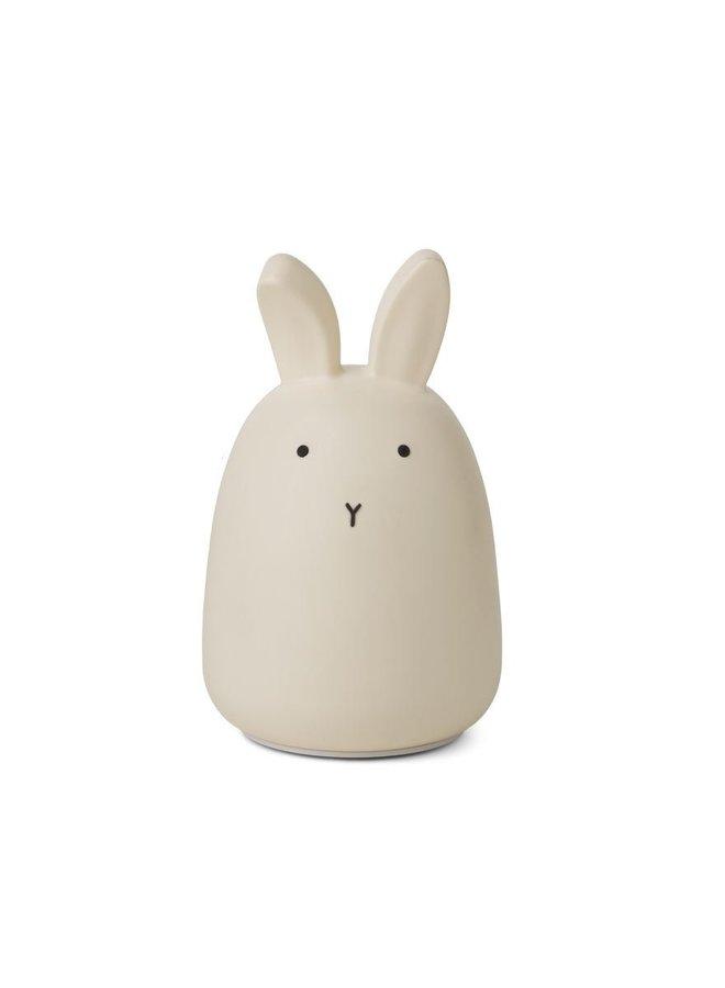 Liewood nachtlampje winston rabbit creme of de la creme