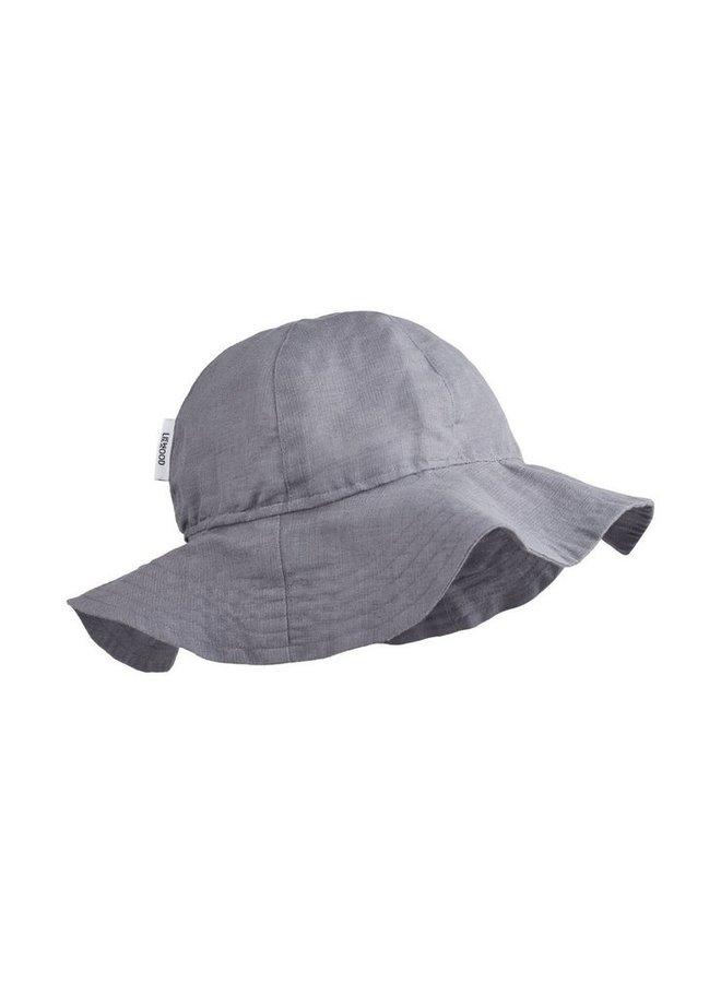 Liewood Dorrit sun hat stone grey