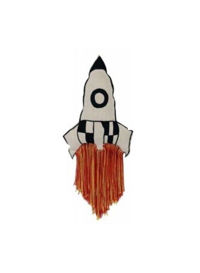 Lorena Canals kussen Raket
