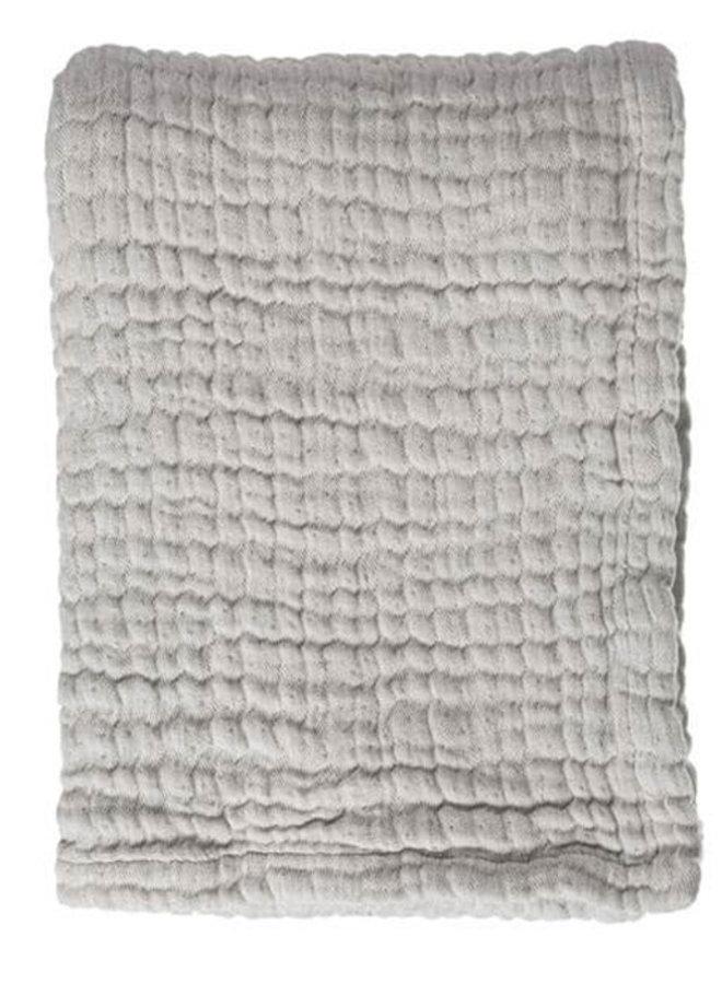 Mies & Co mousseline blanket Gentle Grey (ledikant)