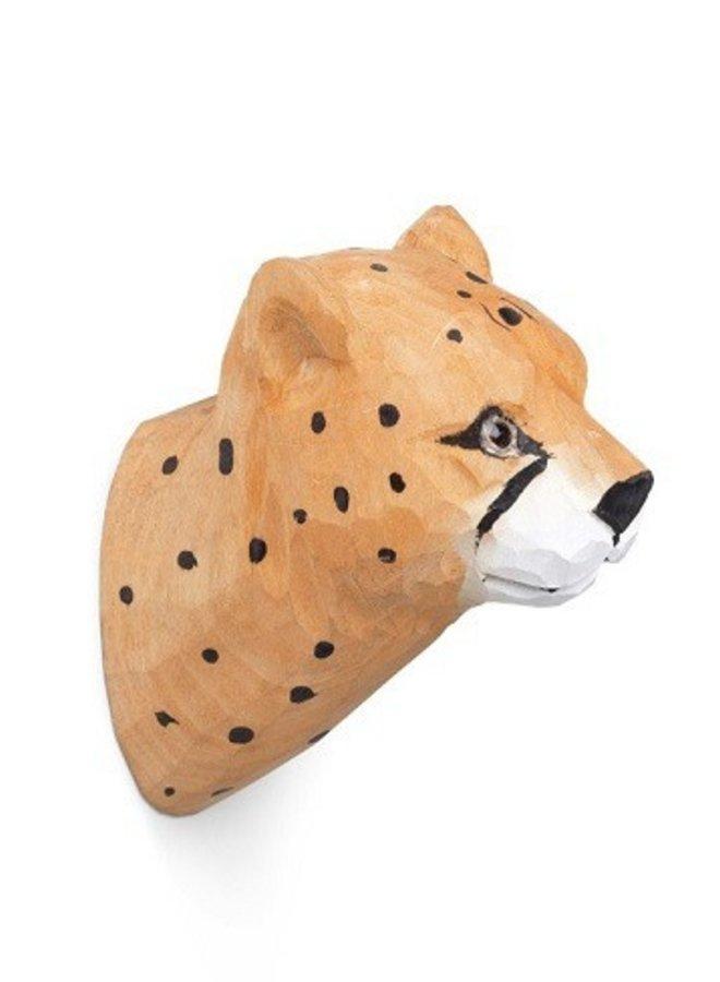 Ferm Living wandhaak handgemaakt Cheetah