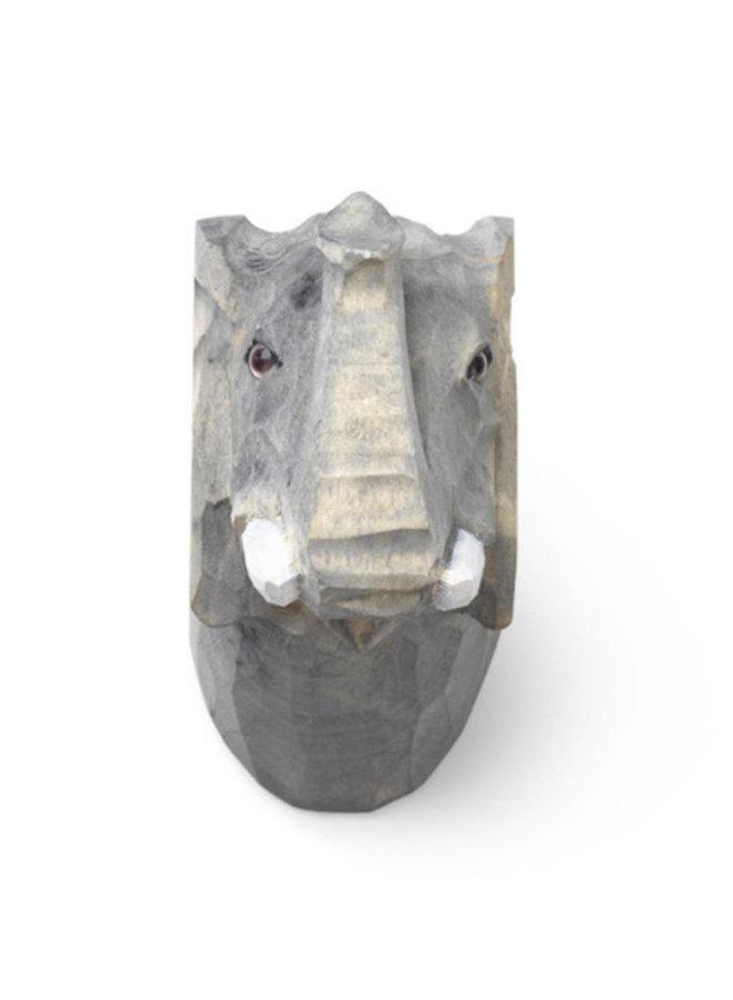 Ferm Living wandhaak handgemaakt Elephant