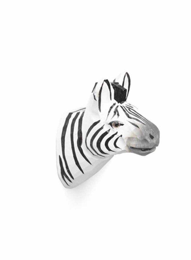 Ferm Living wandhaak handgemaakt Zebra