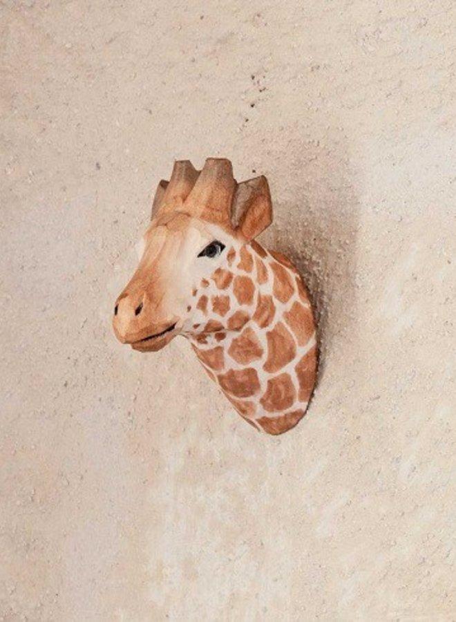 Ferm Living wandhaak handgemaakt Giraffe