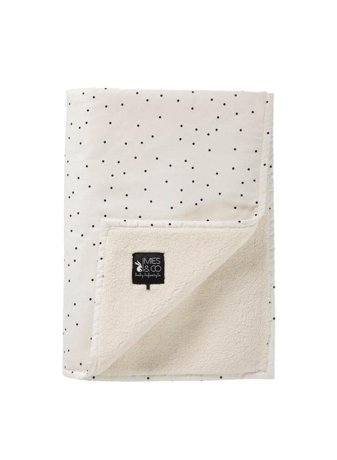 Mies & Co teddy ledikantdeken Adorable Dot
