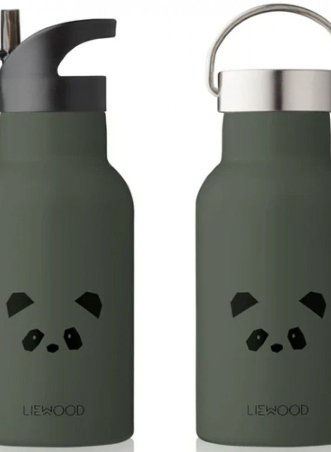 Liewood Anker water bottle panda hunter green