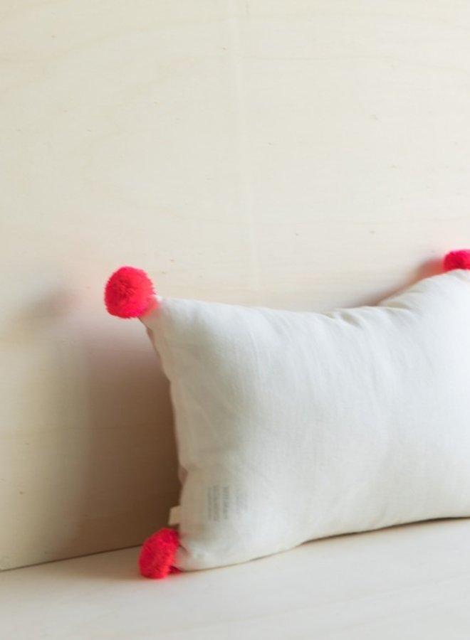 Gabrielle Paris kussen Pompom milk/pink