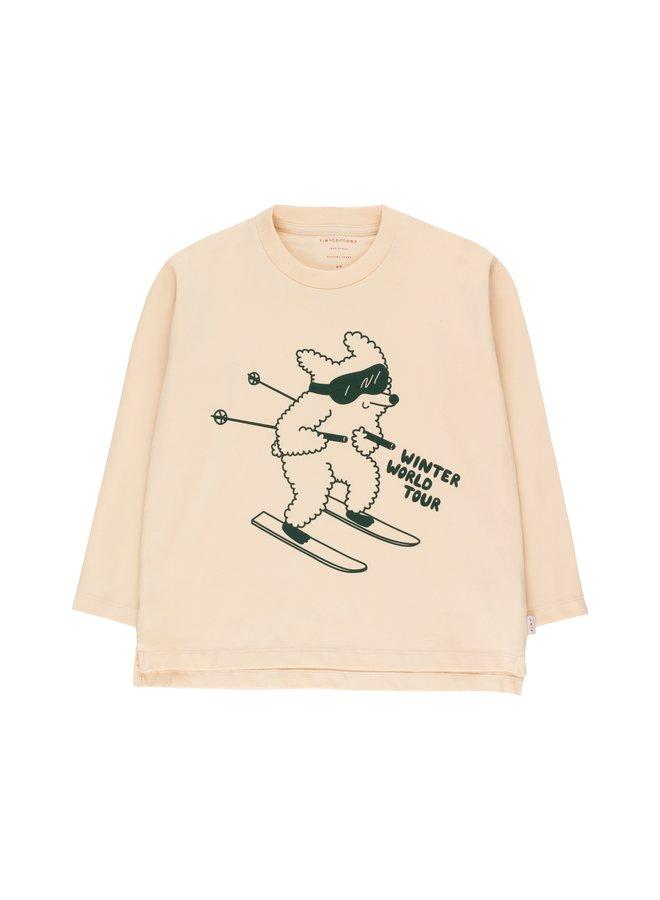 TinyCottons skiing dog tee