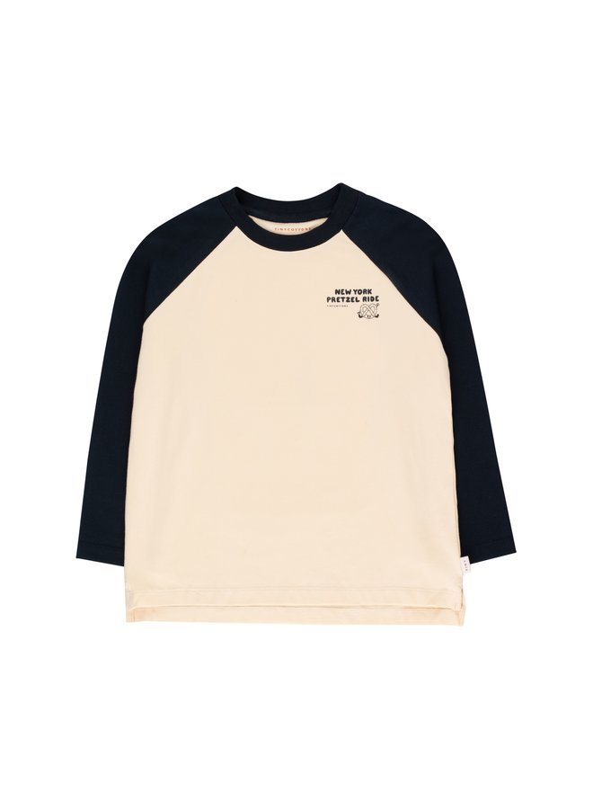 TinyCottons pretzel ride colourblock tee