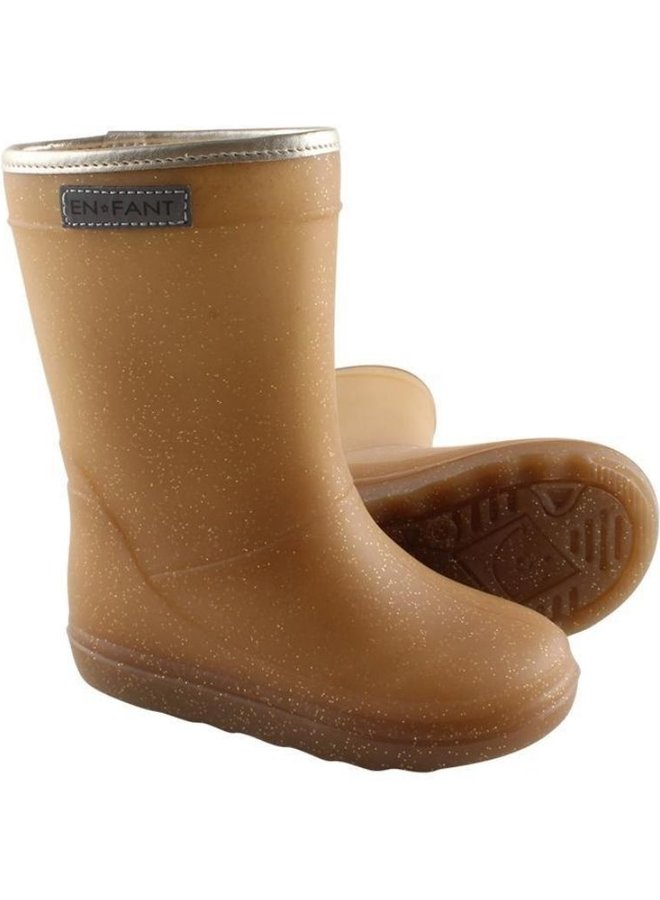 Enfant thermo boots metallic gold
