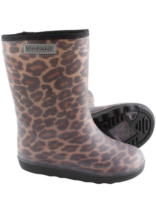 Enfant thermo boots leopard brown