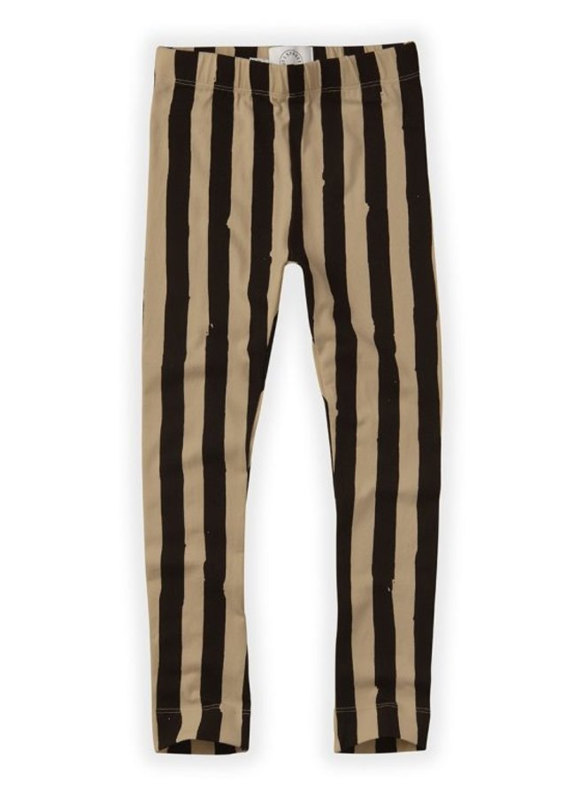 Sproet & Sprout Pants Painted Stripe Nougat