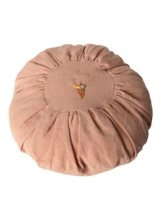Maileg Cushion, Round - Rose