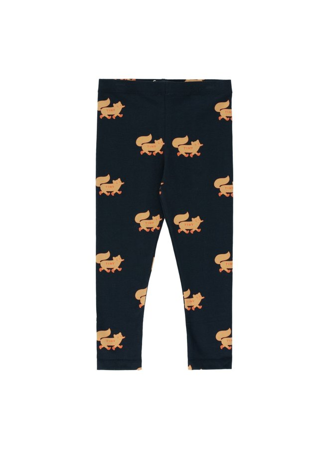 Tinycottons Foxes pants navy/camel