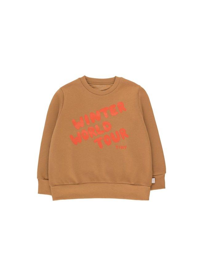 TinyCottons winter world tour sweatshirt