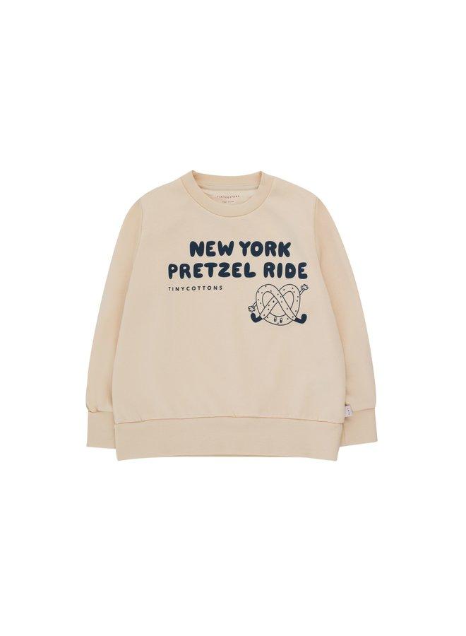 TinyCottons pretzel ride sweatshirt