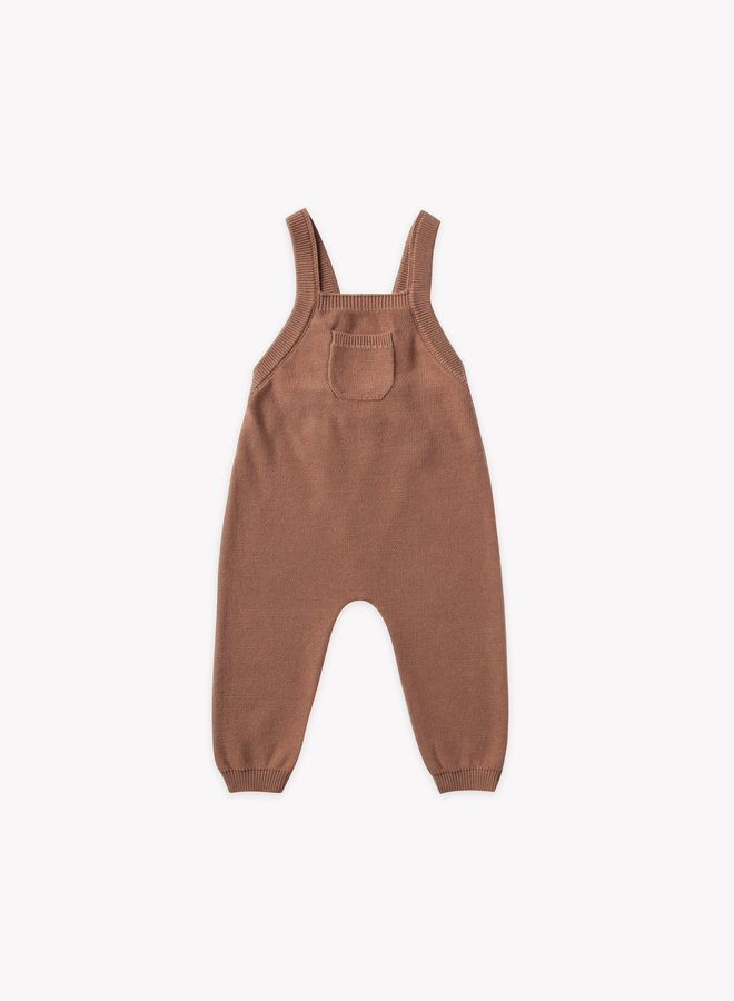 Quincy Mae knit overall clay
