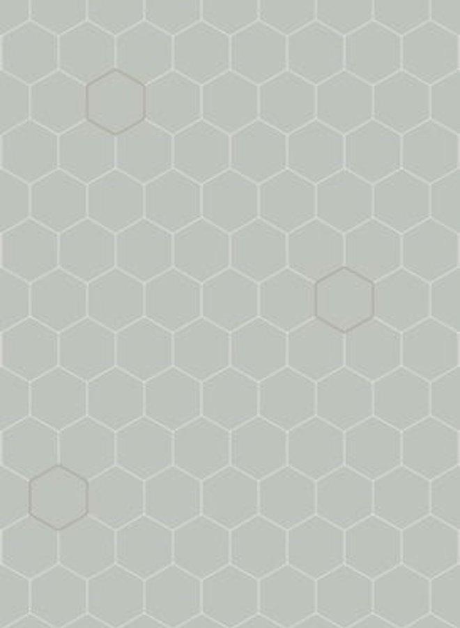 Bibelotte behang Honingraad - zeegroen