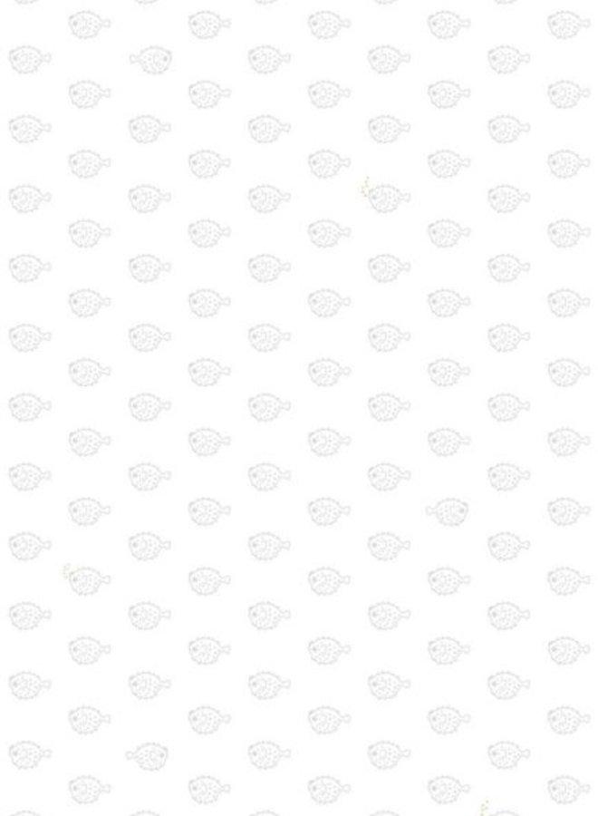Bibelotte behang Vissen - zeegroen