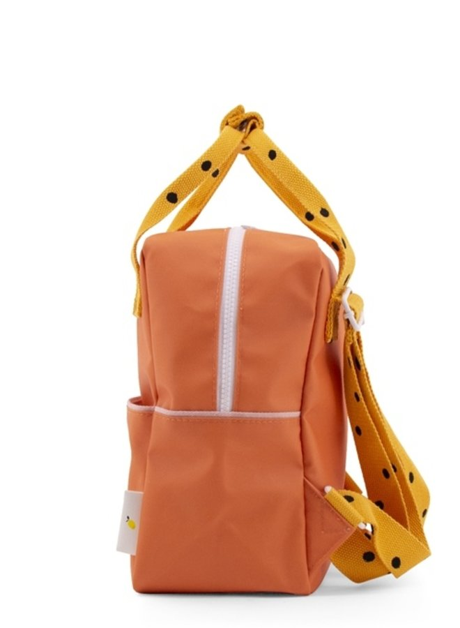 Sticky Lemon backpack small freckles carrot orange