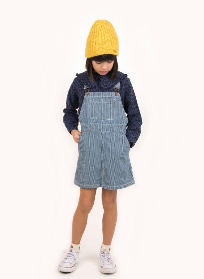TinyCottons stripes denim short dress